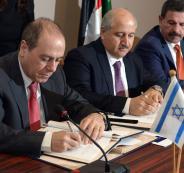 وزير الطاقة الاسرائيلي ونظيره الاردني
