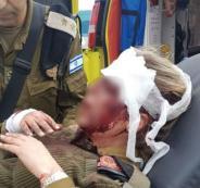 مجندة اسرائيلية تتعرض للضرب في جنين