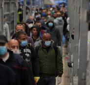 العمال العائدين من اسرائيل
