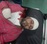 اصابة الصحفي علي دار علي