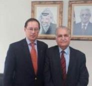 وكيل الخارجية الفلسطينية وسفير روسيا يبحثان تطوير العلاقات بين البلدين