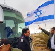نادي الأسير: الهجوم المتطرف على حافلات الأسرى تم بتوجيه الحكومة الاسرائيلية