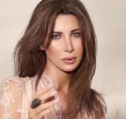 نانسي عجرم   والتظاهرات في لبنان