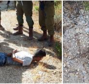 اعتقال فتى فلسطيني