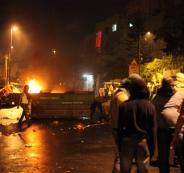 اصابات  بمواجهات مع الاحتلال في قلنديا
