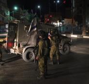 تعرض البرج العسكري المقام على أراضي النبي صالح لإطلاق نار