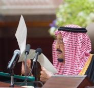 الملك السعودي واليمن وسوريا