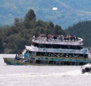 ستة قتلى على الأقل و31 مفقودا في غرق مركب في كولومبيا