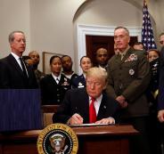 ترامب وميزانية الدفاع الامريكية