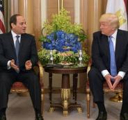 السيسي يمدح ترامب.. والرد غير متوقع!