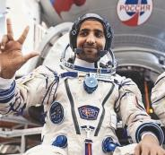 رائد الفضاء الاماراتي
