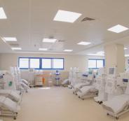قسم الكلى الجديد في مجمع فلسطين الطبي