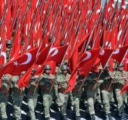 قوات تركية في الدوحة