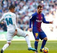 ريال مدريد يتفوق على برشلونة في