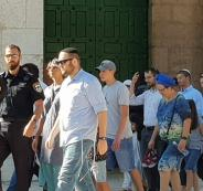 اقتحام المستوطنين للمسجد الأقصى المبارك