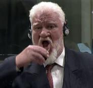 جنرال كرواتي متهم بقتل المسلمين في البوسنة يتجرع السم في المحكمة