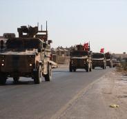 القوات التركية في ادلب