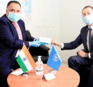 الهند تدعم وكالة اونروا