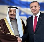 مباحثات بين اردوغان والعاهل السعودي