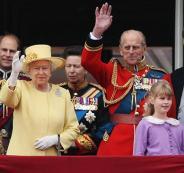 العائلة المالكة البريطانية في اسرائيل
