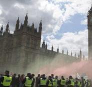 غاز مجهول يهدد شوارع لندن!