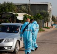 ضبط مركبات مخالفة لقانون الطوارئ في اريحا