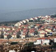 مستوطنات اسرائيلية بنابلس