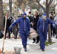وفيات كورونا في ايران