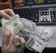 صرف الدولار مقابل الشيقل