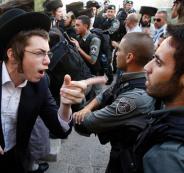 مواجهات عنيفة بين الشرطة الاسرائيلية والحريديم بالقدس