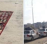 مواطنين فلسطينيين عالقون في سيناء
