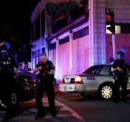 اصابة شرطي امريكي في احتجاجات