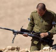 محاولة خطف سلاح اسرائيلي
