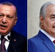 اردوغان وحفتر