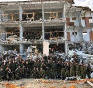 مناورات اسرائيلية في تل ابيب