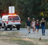 هجوم في ولاية كاليفورنيا الامريكية