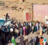مقتل 15 مغربياً أثناء تدافع لاستلام مساعدات غذائية في منطقة الصويرة