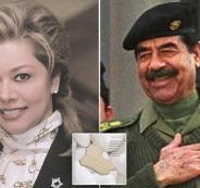 الاردن ورغد صدام حسين
