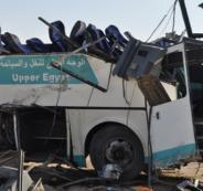 انقلاب حافلة معتمرين اردنيين