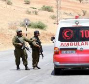 إصابة شاب برصاص الاحتلال على حاجز الحمرا