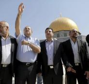 القائمة العربية المشتركة والحكومة الاسرائيلية