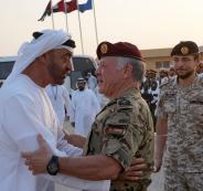 تمرين عسكري اردني في الامارات