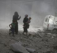 وقف اطلاق النار في الغوطة الشرقية