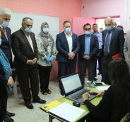 قاعات الامتحانات في رام الله