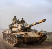 الجيش التركي والجيش السوري في عفرين