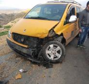 اصابات في حادث سير بالخليل