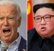 كوريا الشمالية وجون بايدن