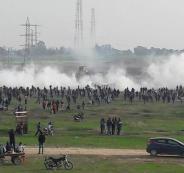 اصابات في مواجهات مع الاحتلال بقطاع غزة