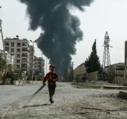 التحالف الدولي وقصف اهداف لداعش في العراق
