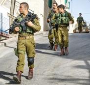 الجيش الاسرائيلي في بيت امر